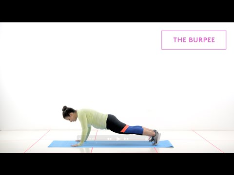 How To Do Better Burpees | 60 Seconds To Fit | Refinery29