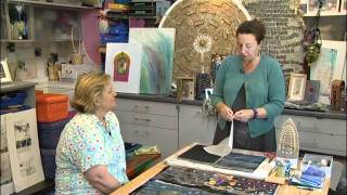Mixed Media Art And Stitch With Angie Hughes - Homemade Crafts