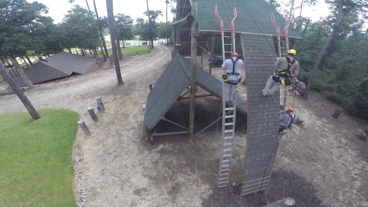 Pitched Roof Specific Rope Access Training At Reality Rope