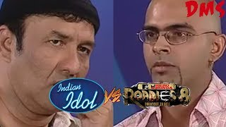 Raghu Criticizes Raghu | Indian Idol Audition