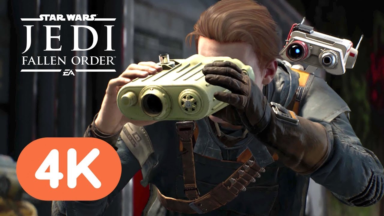 Star Wars Jedi: Fallen Order 4K Gameplay Demo - E3 2019