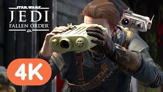 Star Wars Jedi: Fallen Order 4K Gameplay Demo - E3 2019
