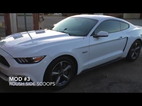 2016 ford mustang gt 30 mods in one video youtube - Mustang modification ...