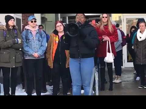UNL students hold rally after video of white nationalist student surfaces