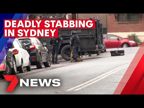 Siege Underway At Home In Sydney's Inner West After One Man Fatally Stabbed   7NEWS