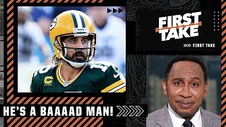 He's a baaaad man! He is that dude! - Stephen A. expects Aaron Rodgers to bounce back | First Take