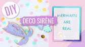 Fabrique Ta Deco Danniversaire Sirene Diy Hyper Faciles Youtube