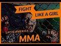 "FEMALE MMA FIGHT 😱😱😱 2018 FIGHT LIKE A GIRL Jessica Artavia vs Fernanda ""Dynamite"" Muñoz WMMA."