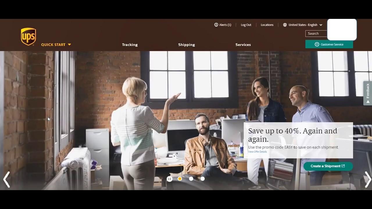 UPS com - Request Access Key (API Key)