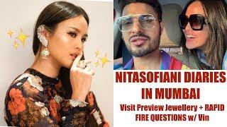 nitasofianiDiariesinMumbai  Rapid Fire Questions with Vin