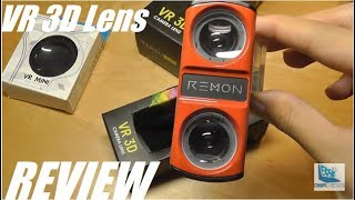 REVIEW: Remon 3D VR Camera Lens for Smartphones?!
