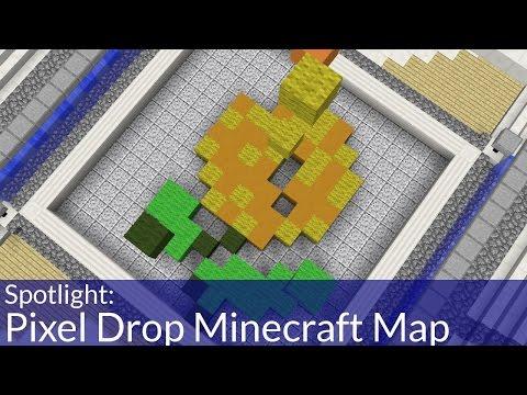Pixel Drop Minecraft Map