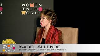 Isabel Allende reveals the story she most wants to tell that she hasn't yet