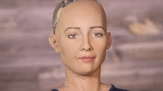 Evil Robot Says She Will Destroy Humans