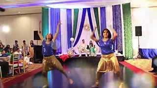 Wedding Bollywood Dance (Nagada Sang, Blue Eyes, Gandi Baat, Kamli, Baby Doll)