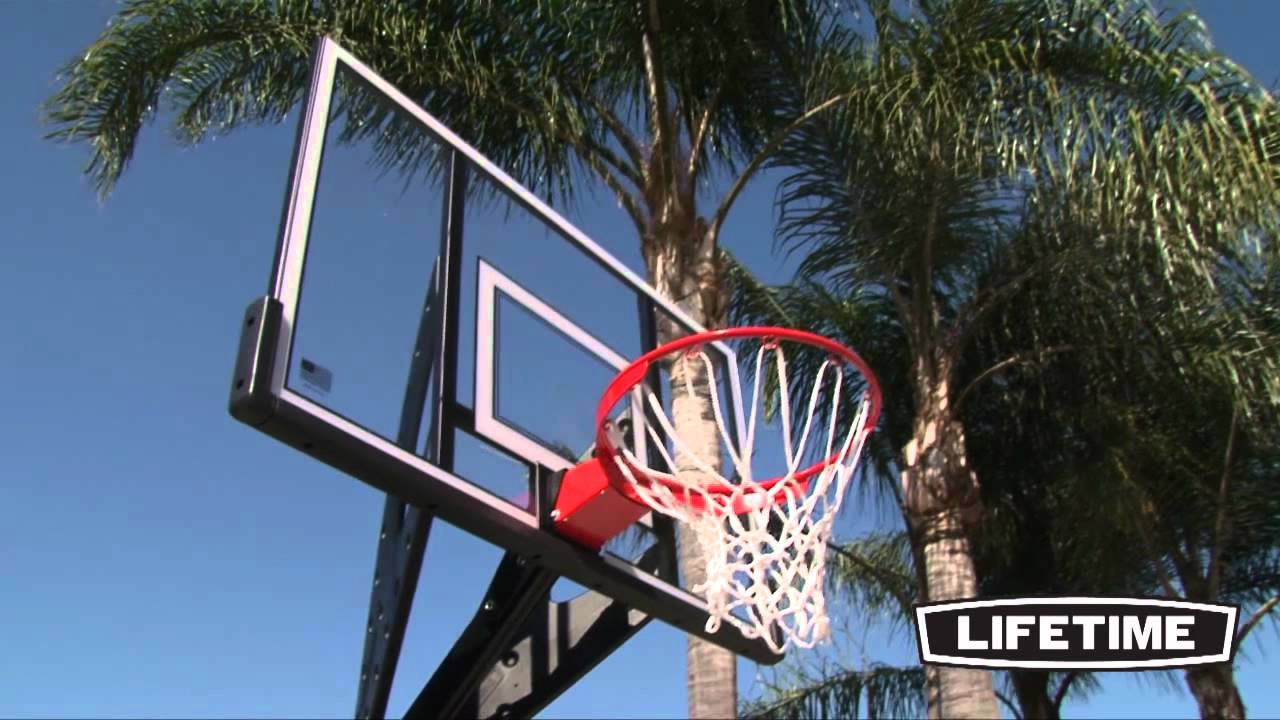 Lifetime Portable Basketball System (Model 90229)   YouTube