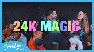 Bruno Mars - 24K Magic - Live cover by Sapphire & Jayden from Continuum
