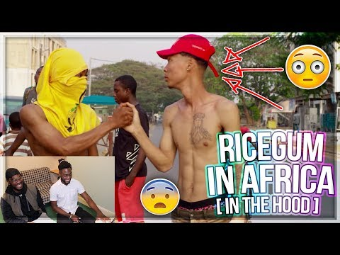 OMG!! RICEGUM IN THE HOOD IN AFRICA??! | Kwesi Arthur - Grind Day Remix ft Sarkodie & Medikal |REACT