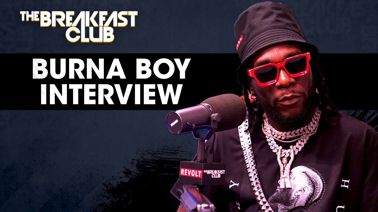 Burna Boy talks fusing Hip-Hop with Afrobeats on the