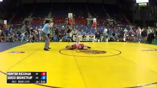 113 Cons. Round 4 - Jarod Bronstrup (Ohio) vs. Hunter Rickman (Oregon)