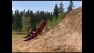 double backflip on pitbike