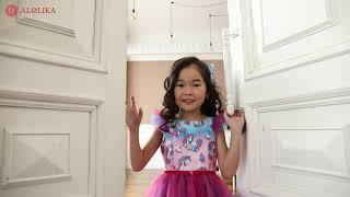 Нарядное платье для девочек от Alolika.