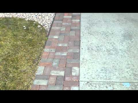 Paver Driveway Extension In Colorado