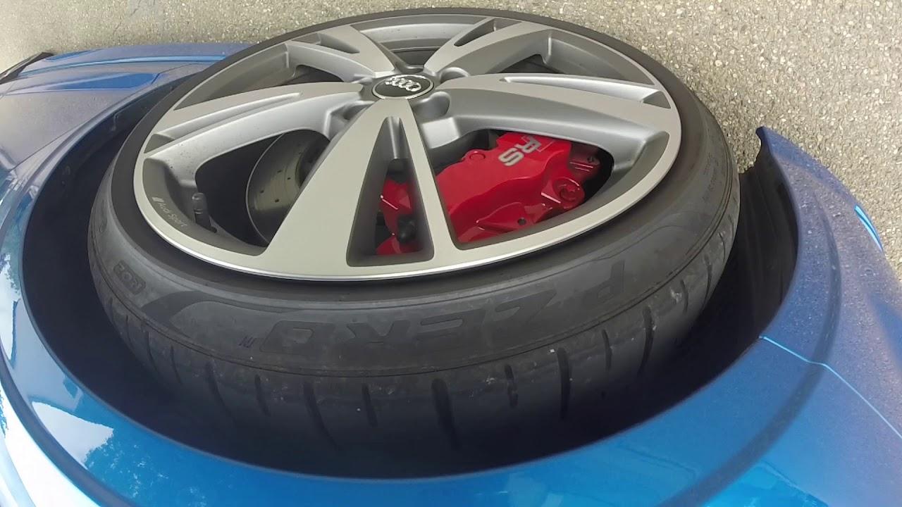 Quietschende Bremsen Audi RS3 Limousine 8V FL - YouTube