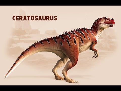 Dinosaurios: Ceratosaurus (Lagarto cornudo)