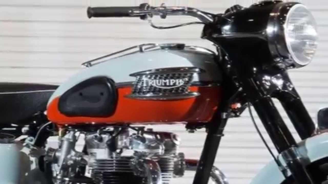 Greatest Bikes Triumph T120 Bonneville Youtube