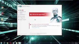 Resolver problema de activación de ESET NOD32 Antivirus 9 y ESET Smart Security 9