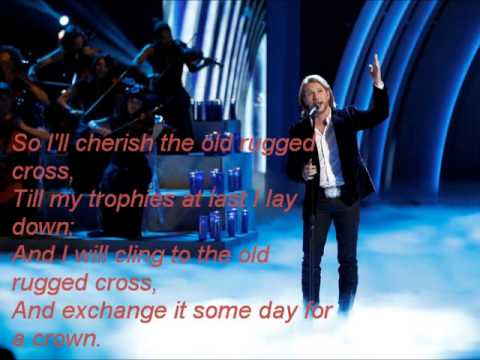 Craig Wayne Boyd The Old Rugged Cross The Voice 7 Lyrics