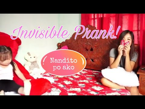 INVISIBLE PRANK (SHE CRIED)