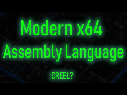 Modern x64 Assembly 1: Beginning Assembly Programming