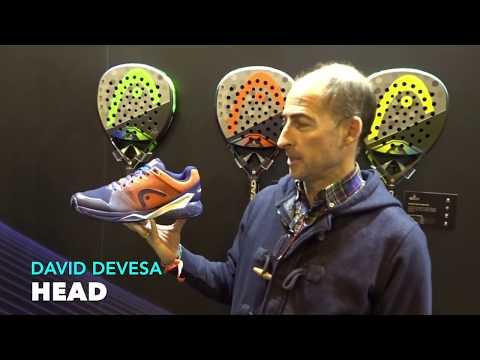 Zapatillas de padel de Sanyo Gutierrez Head Revolt Pro 2.5