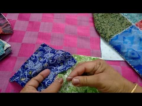 10- Double layered sheet from leftover pieces of cloth (Hindi/urdu)