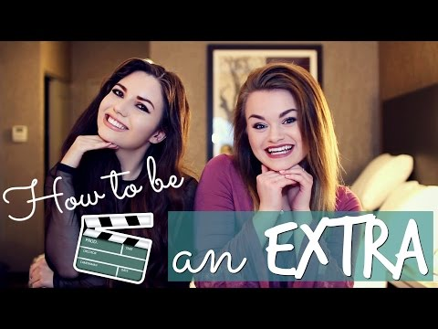 How to be an EXTRA in a Movie or TV ! Ft. Mariana