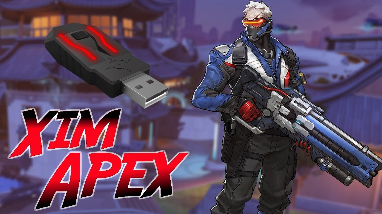 (PS4) Overwatch: Soldier 76 Xim Apex Gameplay (Mouse And Keyboard)