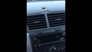 2012 Chevy Traverse AC Hiss