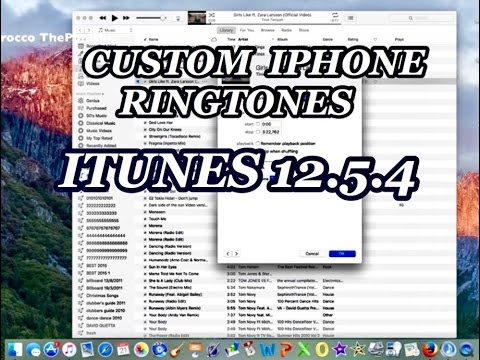 How To Make A Custom iPhone Ringtones On iTunes 2017!