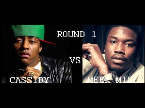CASSIDY VS MEEK MILL ROUND 1 (Me Myself & iPhone, Repo, Diss) New