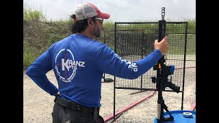 KranzFTG Instructors Shoot Falling Steel Match