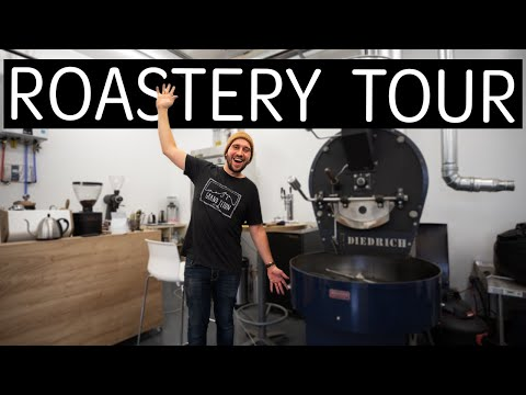 Coffee ROASTERY TOUR - Welcome to My Work!
