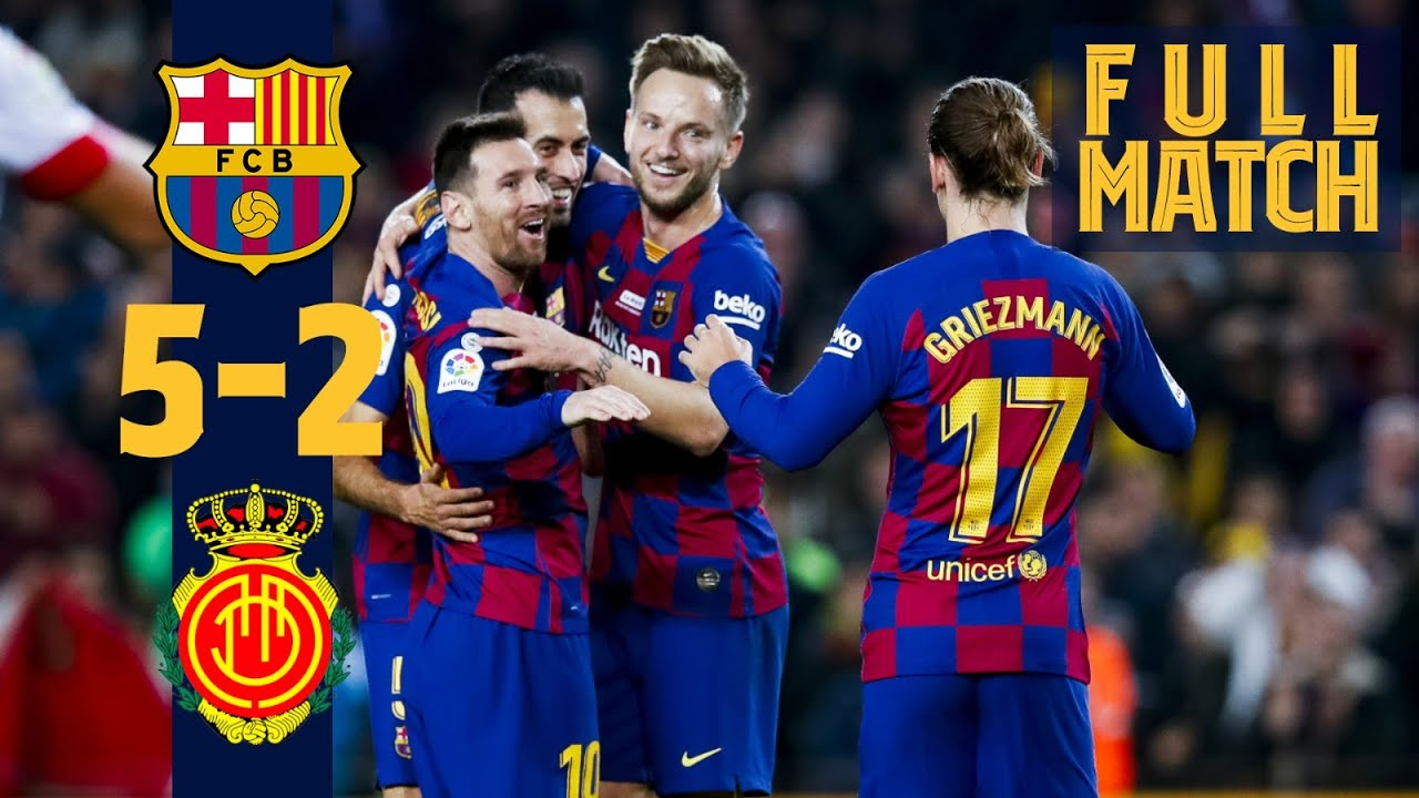 Download FULL MATCH: Barça 5-2 Mallorca (2019/2020)