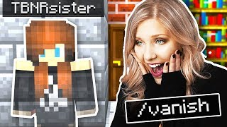 PRESTONPLAYZ SISTER IS A HACKER! | Minecraft Christmas Hide & Seek with Preston and Keeley!