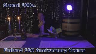 Larsen XO Cognac maisteluilta Suomi 100v  teema