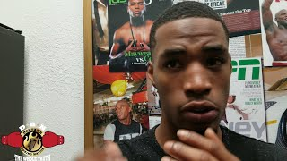 MAYWEATHER SPARRING PARTNER (DAQUAN) SAYS FLOYD DROPPED HIM WITH A BODY SHOT thumbnail