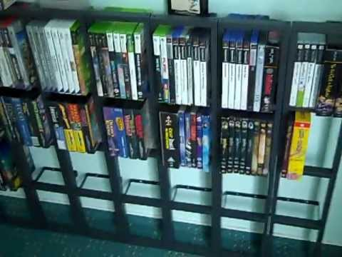 videospiel dvd cd regal gestell dingens youtube. Black Bedroom Furniture Sets. Home Design Ideas