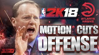 NBA 2K18 Best Offense:  ATL Motion Cuts