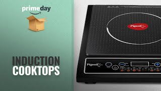 Induction Cooktops Prime Day 2018: Pigeon by Stovekraft Cruise 1800-Watt Induction Cooktop (Black)